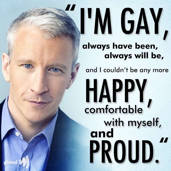from Houston anderson cooper and gay